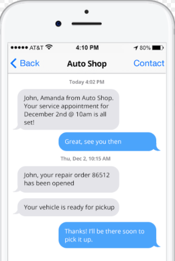 Are You Texting Customers?